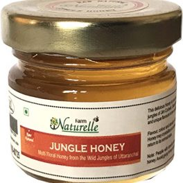 Farm Naturelle The Finest Herbal Wheatgrass Powder 100g, with Raw Forest Honey
