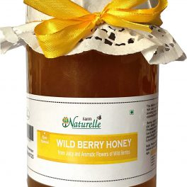 Farm Naturelle Natural Unprocessed Wild Berry Forest Flower Honey