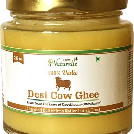 Farm Naturelle Desi Cow Ghee From A2 Milk