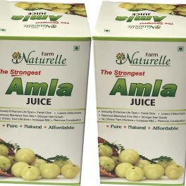 Farm Naturelle (Farm Natural Produce) Herbal Amla Juice, 400ml