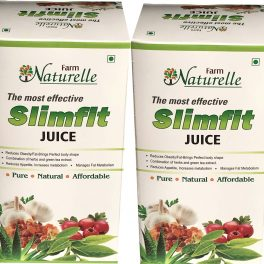 Farm Naturelle (Farm Natural Produce) Herbal Slim Fit-Weight Loss Juice for Quick Fat Burning, 400 ml