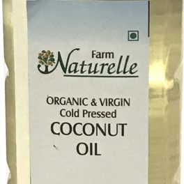 Farm Naturelle Kachi Ghani Organic Cold Pressed Virgin Coconut Oil