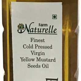 Farm Naturelle Virgin Cold Pressed Kachi Ghani Mustard Oil
