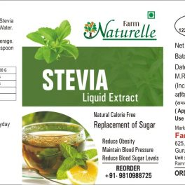 Farm Naturelle Concentrated Stevia Extract Liquid for Weight Loss and for Diabetic People, 20ml