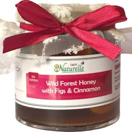 Cinnamon Infused  Raw Natural Forest Honey and Big Delicious Figs (Anjeer) -250 GMS